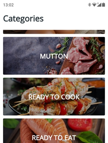 mutton delivery application development